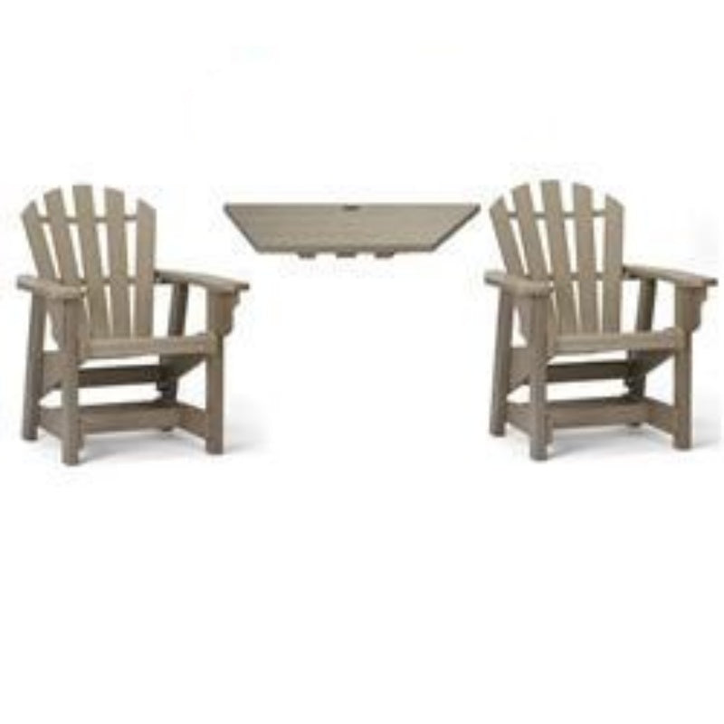 Dining Height Tete'-a-Tete' Table & Chair Set
