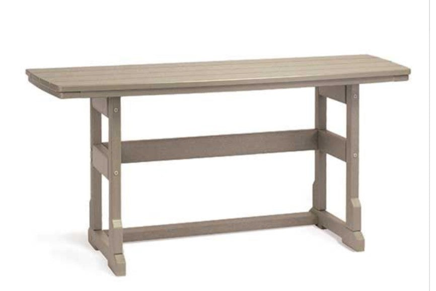 "Dining Height Terrace Table  21"" x 60"""