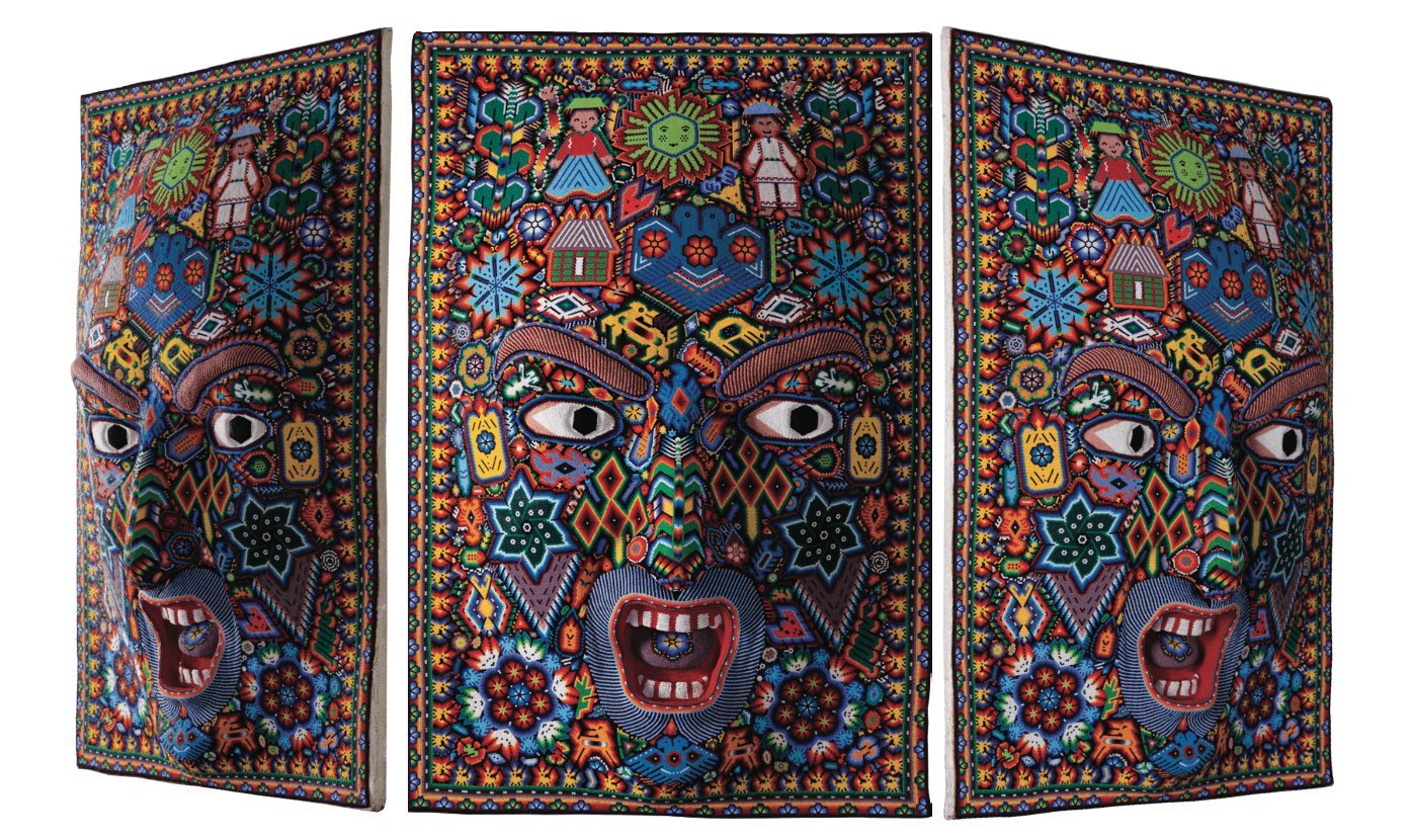 The Mexican Museum | Huichol art - Marakame