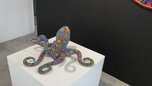 Huichol Squid Art Sculpture - Haramara