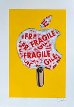 Load image into Gallery viewer, ICE APPLE CREAM, yellow fragile