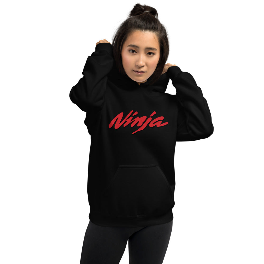 Ninja Hoodie | Black One Piece Ninja Hooded Sweatshirt Women