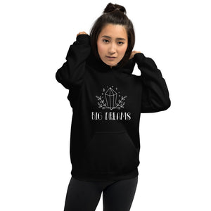 Big Dreams Hoodie | Black One Piece Big Dreams Hooded Sweatshirt