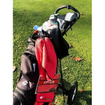 Soulful Golf Caddy Towel and Matching Greenside Pocket Towel