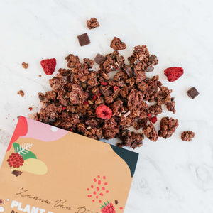 Load image into Gallery viewer, Dark Chocolate Raspberry • Plant Powered Granola by Zanna Van Dijk