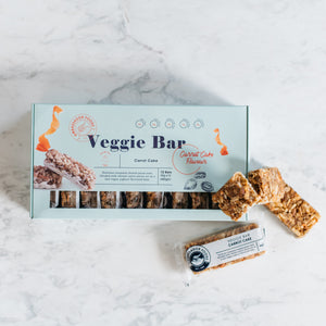 Load image into Gallery viewer, Carrot Cake - Veggie Bar (12x Bars)