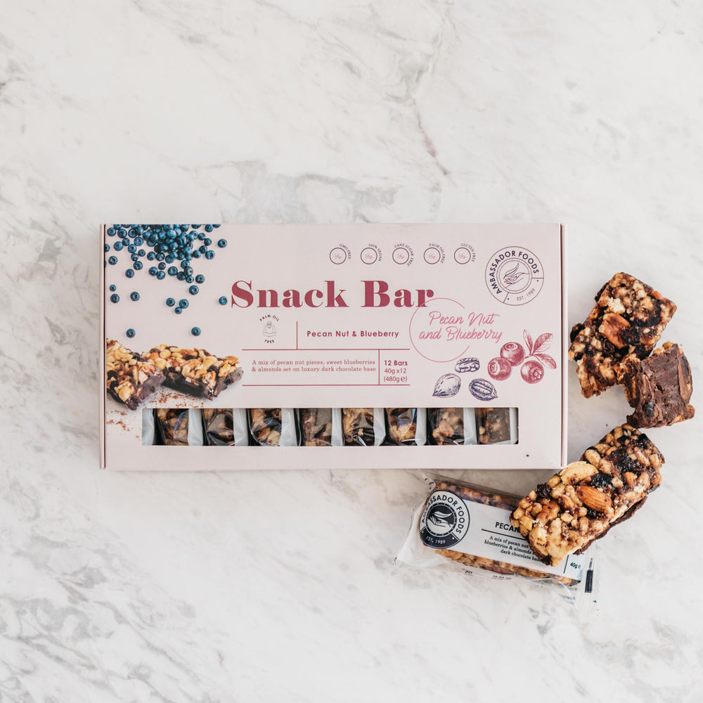 Pecan Blueberry Snack Bar (12x Bars)
