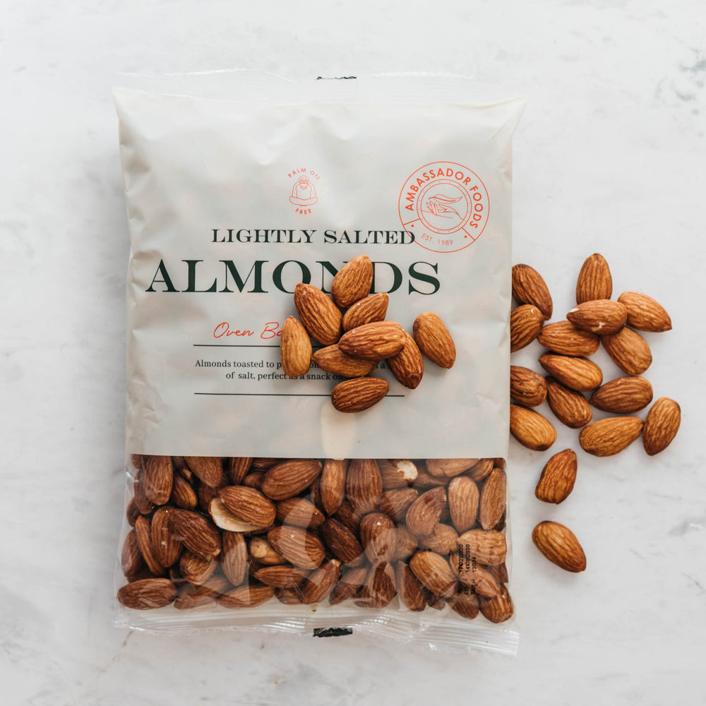 Oven Baked Almonds - Lighly Salted
