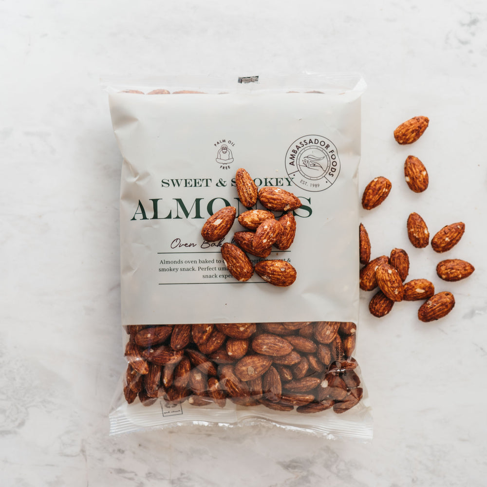 Sweet & Smokey Almonds