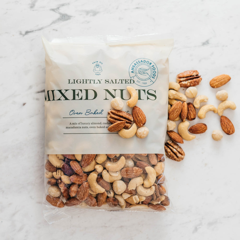 Oven Baked Mixed Nuts