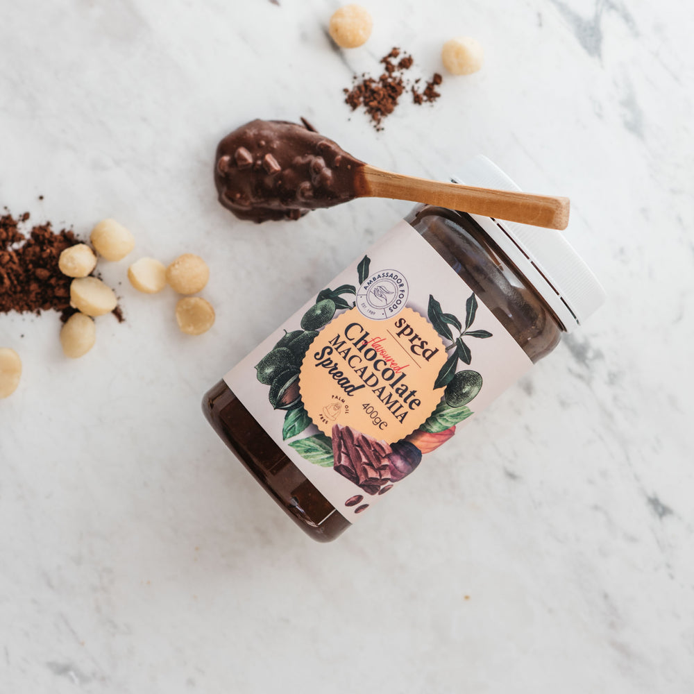 Load image into Gallery viewer, Vegan Chocolate Macadamia Spread