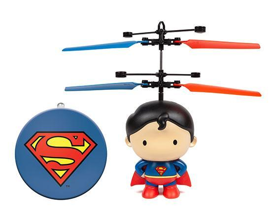 DC Licensed Superman 3.5 Inch Flying Figure UFO Big Head Helicopter-Big Head-Phooqy
