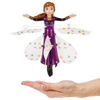 Disney Licensed Frozen II Anna Motion Sensing IR Helicopter-Big Head-Phooqy