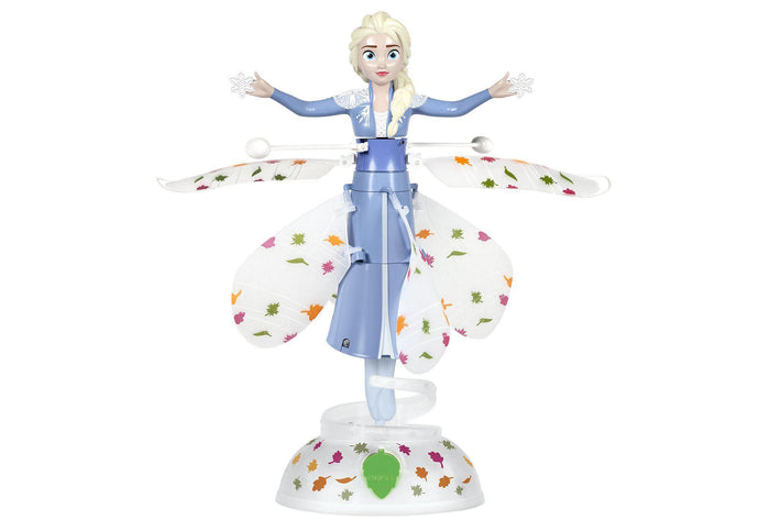 Disney Licensed Frozen II Elsa Motion Sensing IR Helicopter-Big Head-Phooqy