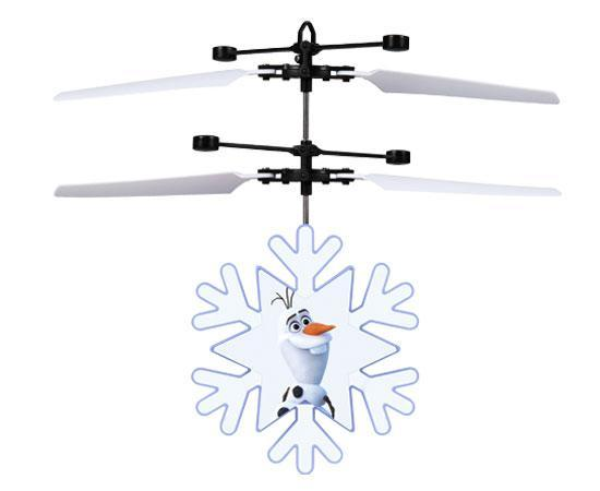 Disney Licensed Frozen II Olaf Motion Sensing IR UFO Helicopter-Heli Ball-Phooqy