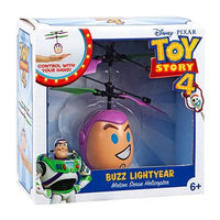 Disney Pixar Licensed Toy Story Buzz Lightyear Flying IR UFO Motion Sensing Helicopter-Heli Ball-Phooqy