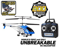 Hercules Unbreakable 3.5CH RC Helicopter-Drones-Phooqy