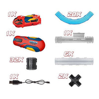 Hyper Tube 65 Piece RC Tube Racing Set-Phooqy