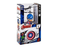 Marvel Licensed Captain America 3.5 Inch Flying Figure IR UFO Big Head Helicopter-Big Head-Phooqy