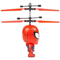 Marvel Licensed Spider-Man 3.5 Inch Flying Figure IR UFO Big Head Helicopter-Big Head-Phooqy
