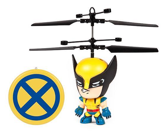 Marvel Licensed X-Men Wolverine 3.5 Inch Flying Figure IR UFO Big Head Helicopter-Big Head-Phooqy