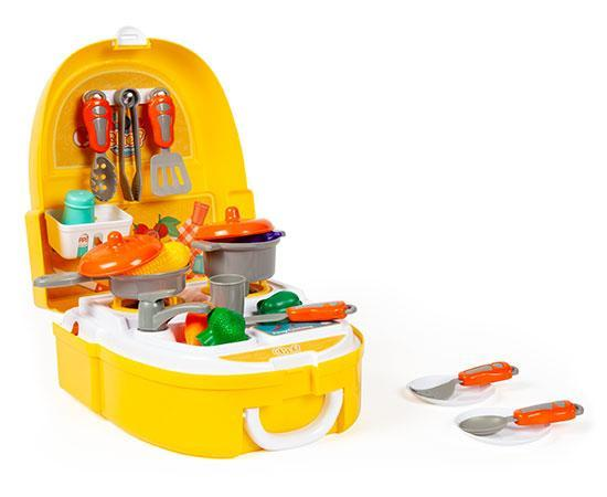 World Tech Toys Chef Backpack 25-Piece Cooking and Kitchen Playset-Playset-Phooqy
