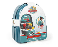 World Tech Toys Handyman Backpack 21-Piece Tool and Workbench Playset-Playset-Phooqy