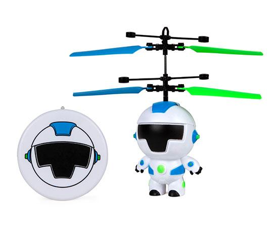 World Tech Toys Hoverbot 3.5 Inch Flying Figure UFO Big Head Helicopter-Big Head-Phooqy