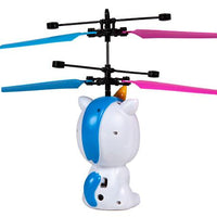 World Tech Toys Unicorn 3.5 Inch Flying Figure UFO Big Head Helicopter-Big Head-Phooqy