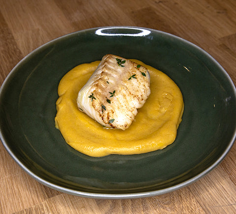 Bacalao & Plantain Puree