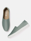Women Grey Slip-Ons