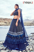 BLUE COLOR DESIGNER LEHENGA CHOLI