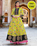 Exclusive Long Anarkali Style Kurti