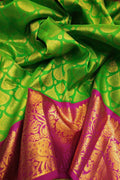 Latest Green Color Designer Saree