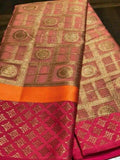 New look Light Pink Color Designer Saree