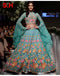 Rama Partywear Designer Embroidered Georgette Semi-Stitched Lehenga Choli
