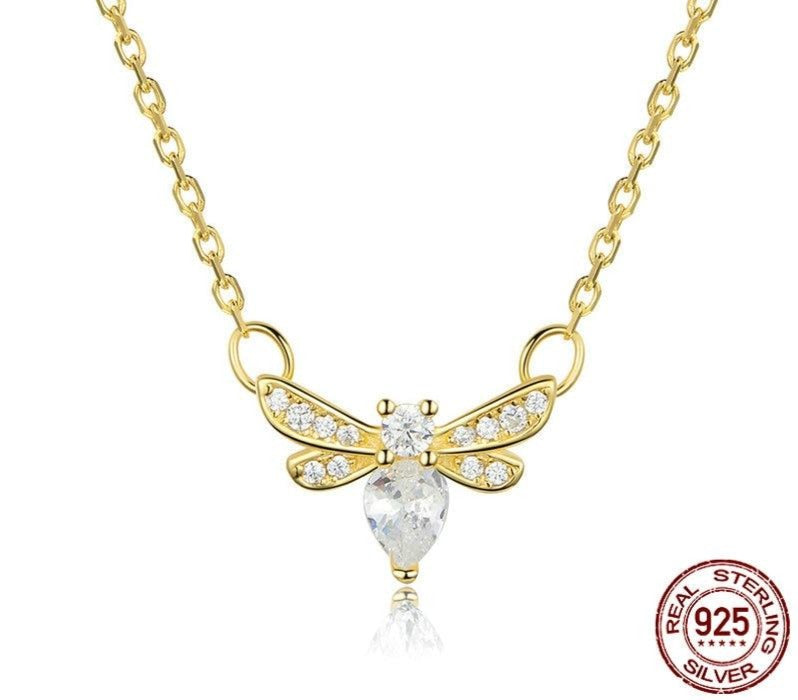 Bee Choker Necklace - wow stylu