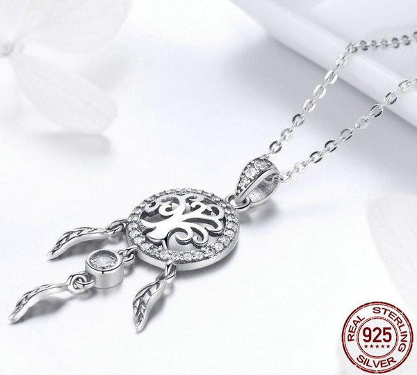 Tree of Life Fashion Dream Catcher Pendant Necklaces - wow stylu