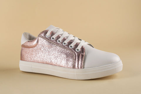 Sneaker White with Shine Lilac