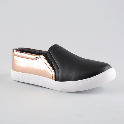 Sneaker Rose Gold with Black