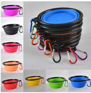 Collapsible Silicone Dog Bowl