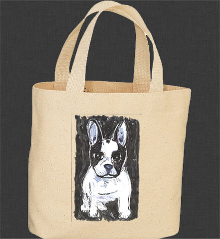Copy of Canvas Tote Bag - Bull Dog