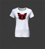 Ladies T-Shirt Butterfly