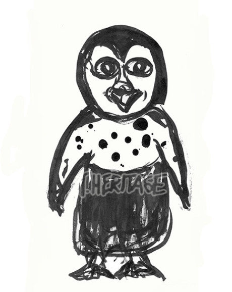 Drawing  Penguin