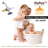 SUF-300VIP VitaPure® Combo Inline Filter for Water softener & Shower (Exptra Special Promotion)