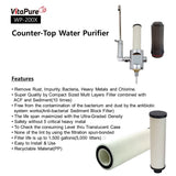 WP-200A - Compact Water Filtering System  / Counter-Top Drinking Water Purifier