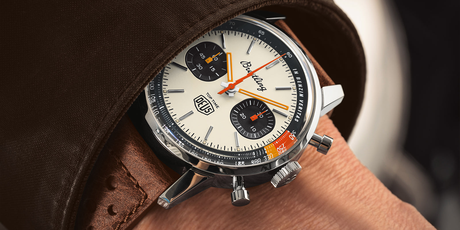 BREITLING'S TOP TIME DEUS LIMITED EDITION