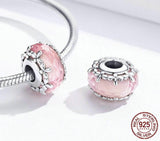 FLORET Murano Sterling Silver Charm