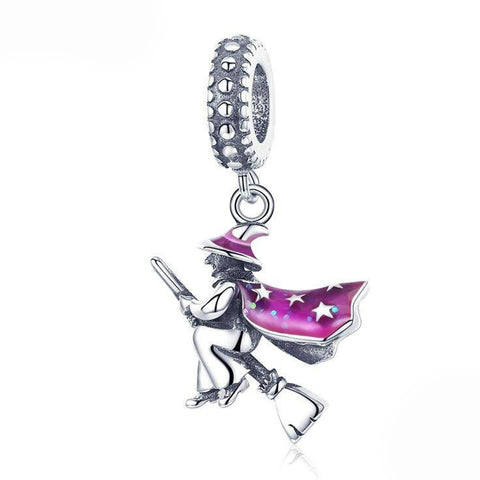 MAGIC WITCH Sterling Silver Charm