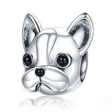 FRENCH BULLDOG Sterling Silver Charm